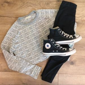 Urban Outfitters Staring At Stars Crop Sweater
